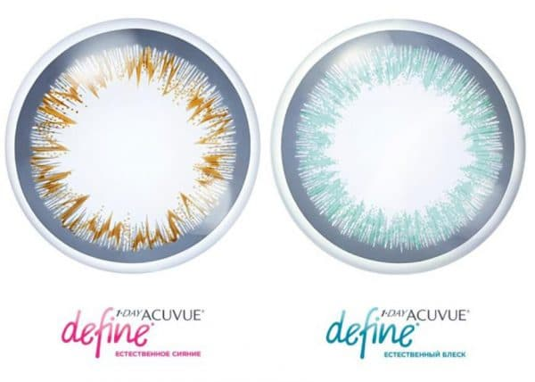 Контактные линзы Варианты 1•DAY ACUVUE® DEFINE®