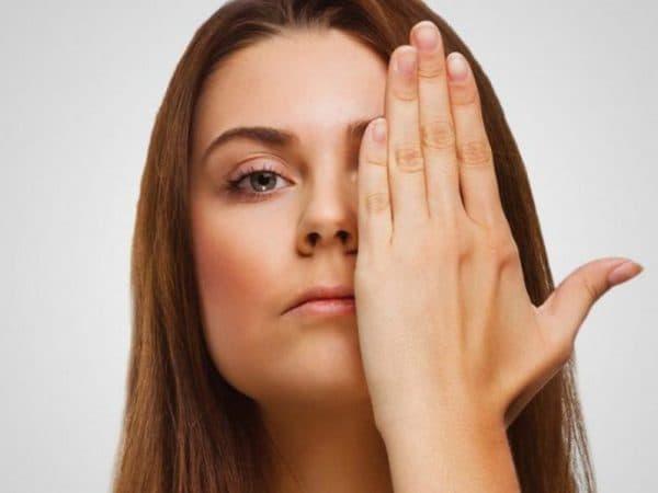 Частичная потеря зрения при амблиопии