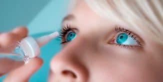 Антигистаминные капли для глаз