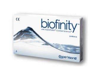 Biofinity контактные линзы
