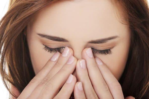 Боль в глазах при синусите