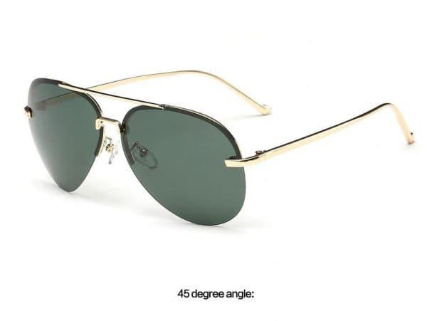 Женские солнцезащитные безободковые очки