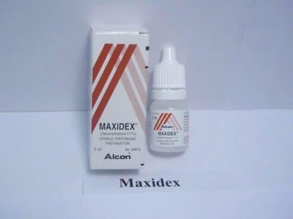 Максидекс глазные капли
