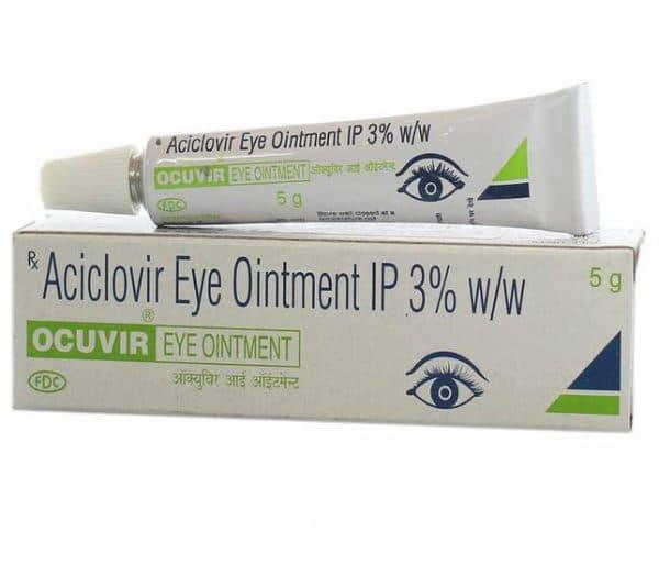 Глазная мазь от вируса герпеса Ocuvir