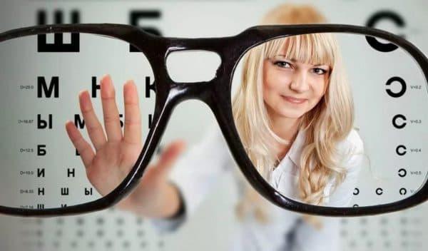 Подбор очков при близорукости