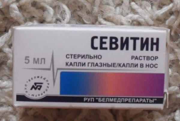 Глазной раствор Севитин