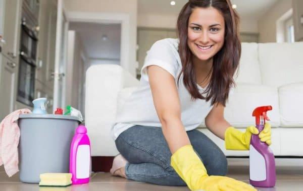 Влажная уборка для профилактики бактериального конъюнктивита