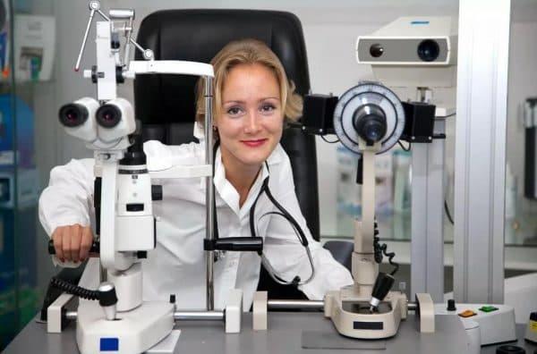 Диагностика у офтальмолога
