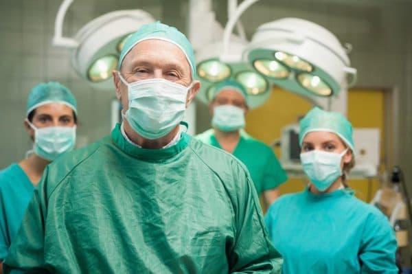 Хирургическое лечение височного артериита