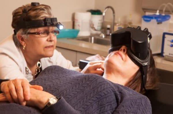 Аппаратное лечение нистагм