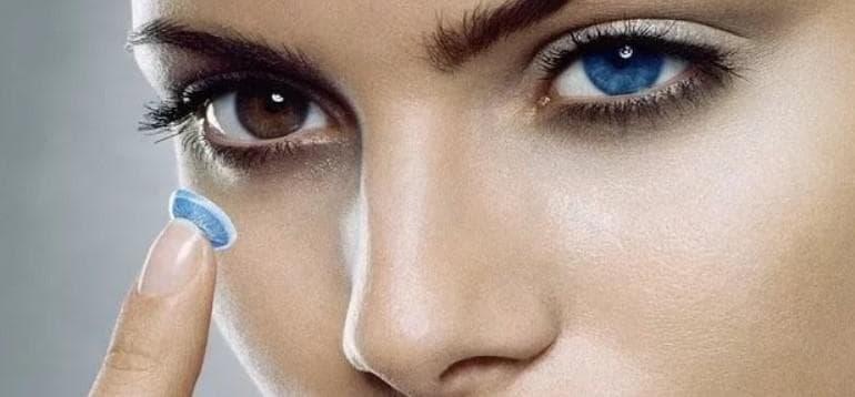 Стоит ли брать контактные линзы для глаз