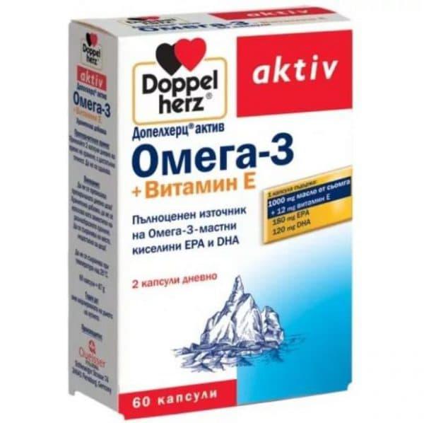 Витамины Омега 3 для зрения