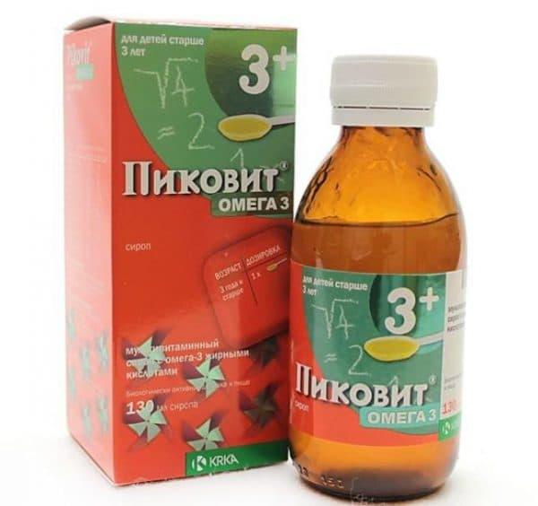 Витамины для глаз сироп Пиковит