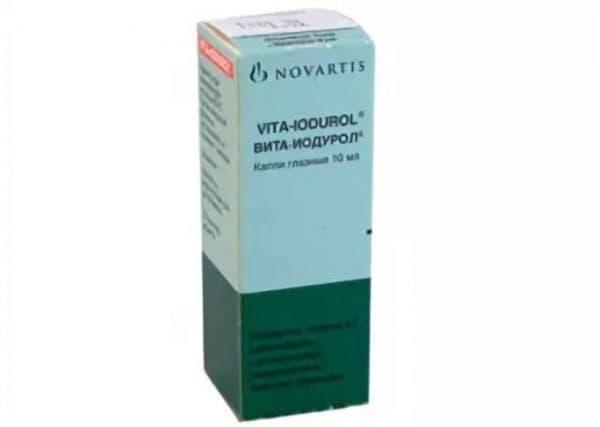 Глазные капли Vita-Iodurol