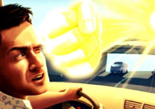 Водитель и вспишки перед глазами