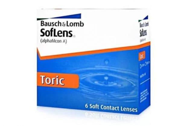 Контактные линзы при астигматизме Bausch & Lomb SofLens 66 Toric