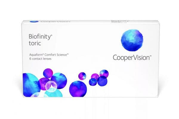 Компактные линзы Biofinity Toric для коррекции зрения при астигматизме