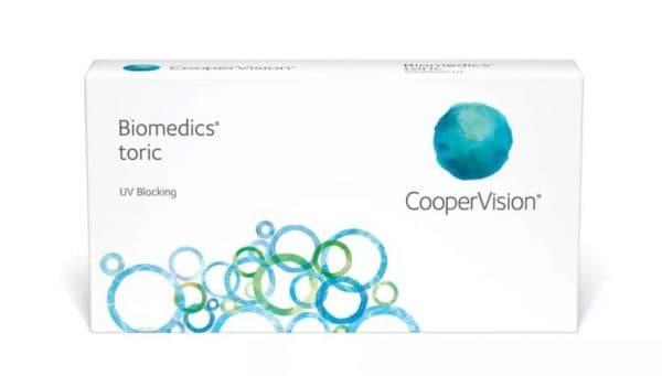 Biomedics Toric контактные линзы при астигматизме
