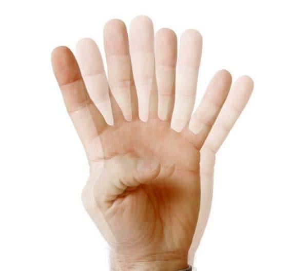 Тест на двоение в глазах с помощью пальцев