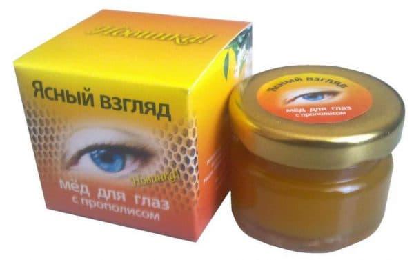 Мёд для здоровья глаз