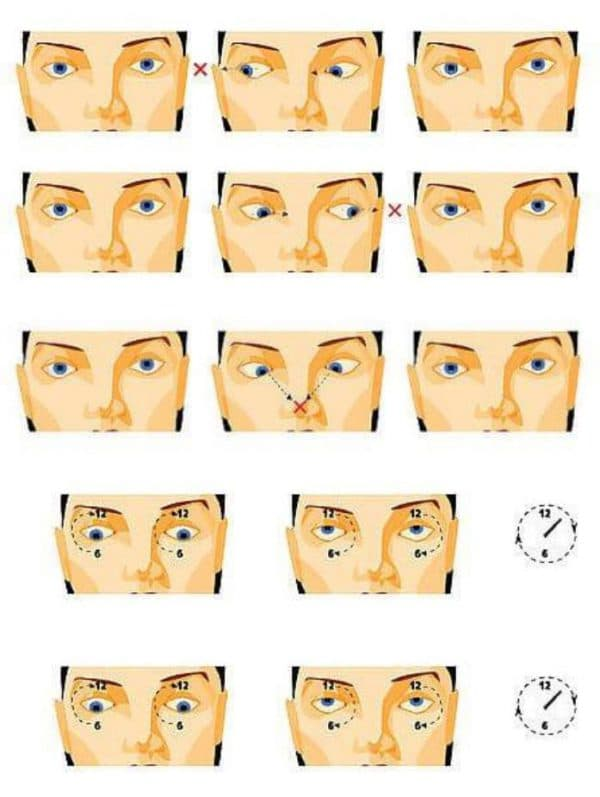Упражнения Норбекова для глаз