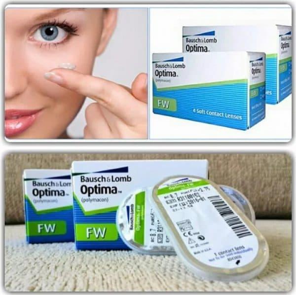Optima FW контактные линзы длительного ношения