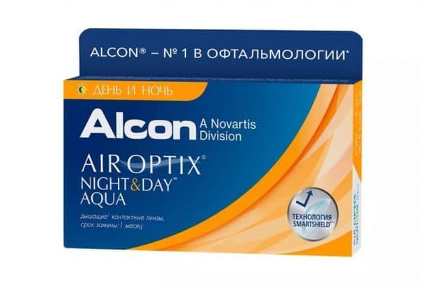 Контактные линзы Alcon