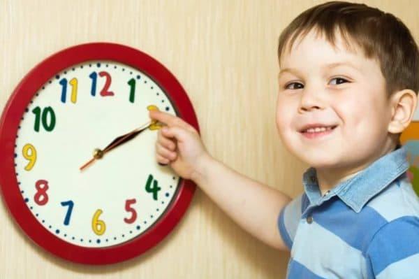 Правильный режим дня для ребенка