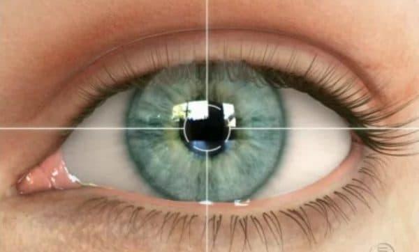 Здоровая роговица глаза