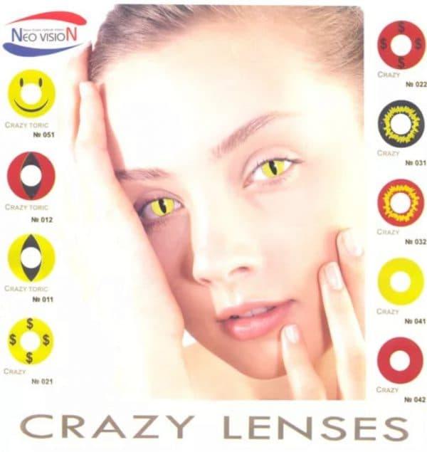 Крейзи линзы Neo Vision