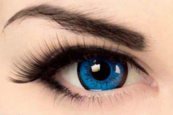 Цветные контактные линзы с диоптриями