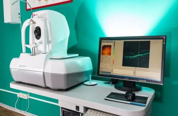 Компьютерная томография глаз