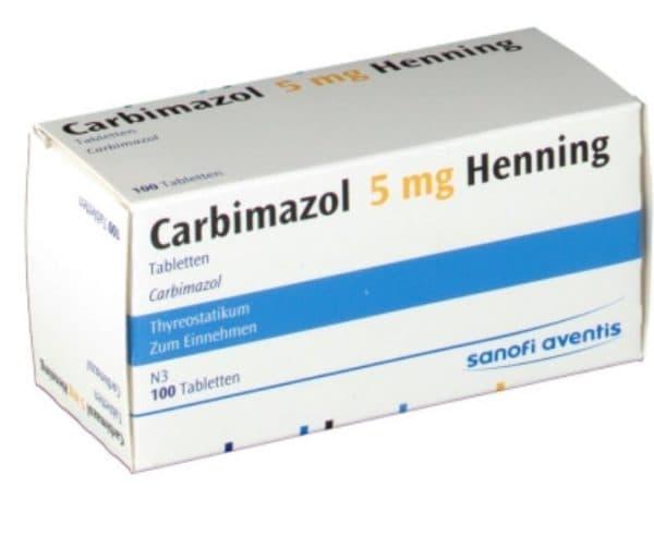 Таблетки Карбимазол