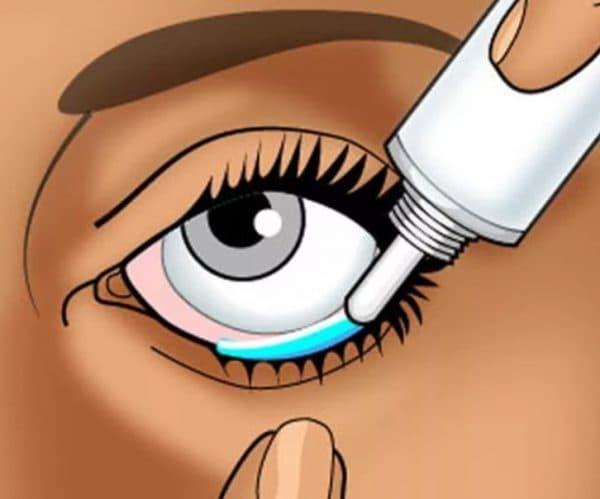 Как правильно закладывать глазную мазь