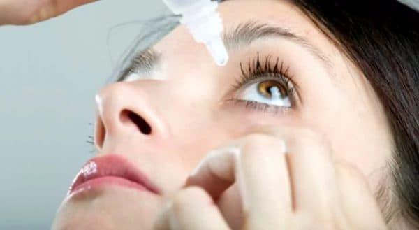 Как правильно закапывать глазные капли