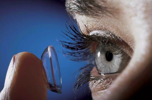 Контактные линзы и глазные капли Теалоз