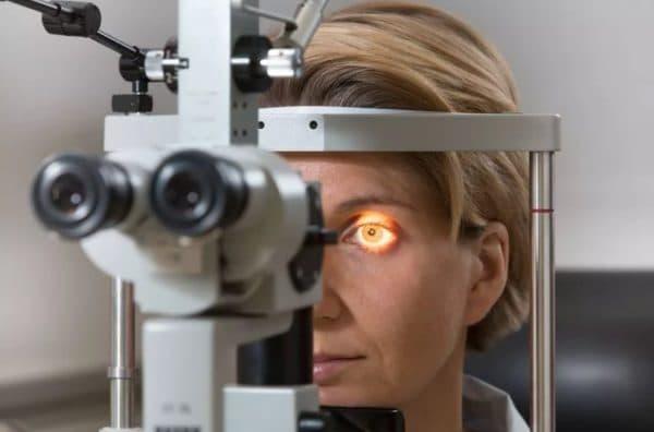 Биомикроскопия глаза